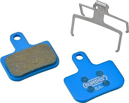 Bleu Elvedes 1 Paire Organic Set de Plaquettes de Freins Velo//VTT//E-Bike//Route pour Hayes El Camino Mixte Adulte