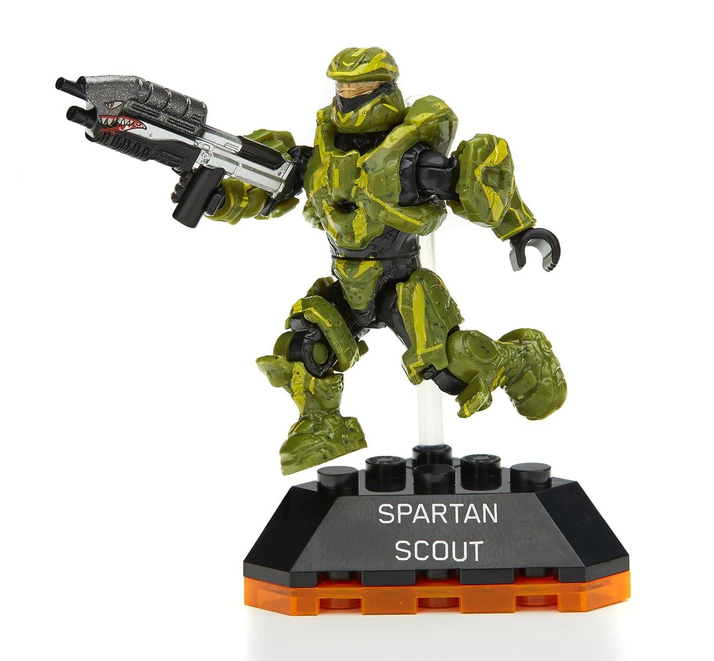Mega Construx Halo Heroes Series 2 Spartan Scout Figure 4 Mattel DPJ80