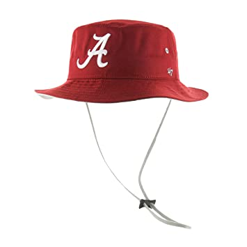 e423dd047cf ... low price ncaa alabama crimson tide 47 kirby bucket hat with chin strap  one size fits