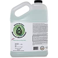 Natural Weed Killer Made with Ocean Water and Commercial Food Grade Vinegar Pet Friendly