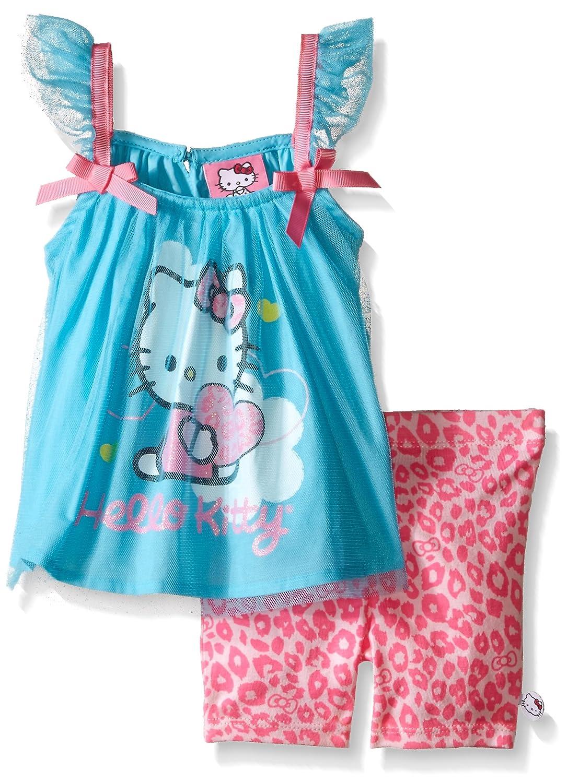 Hello Kitty Baby Girls' 2 Pc Bike Short Set HKBNG857