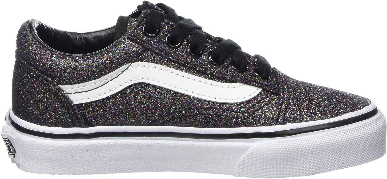 black glitter vans kids