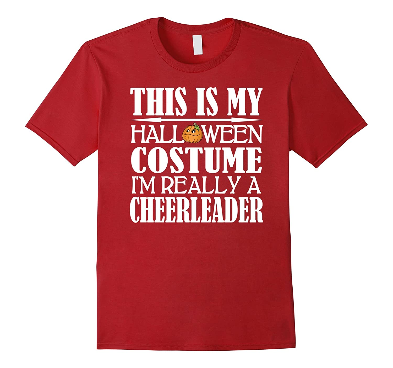 Cheerleader Halloween Costume Shirt