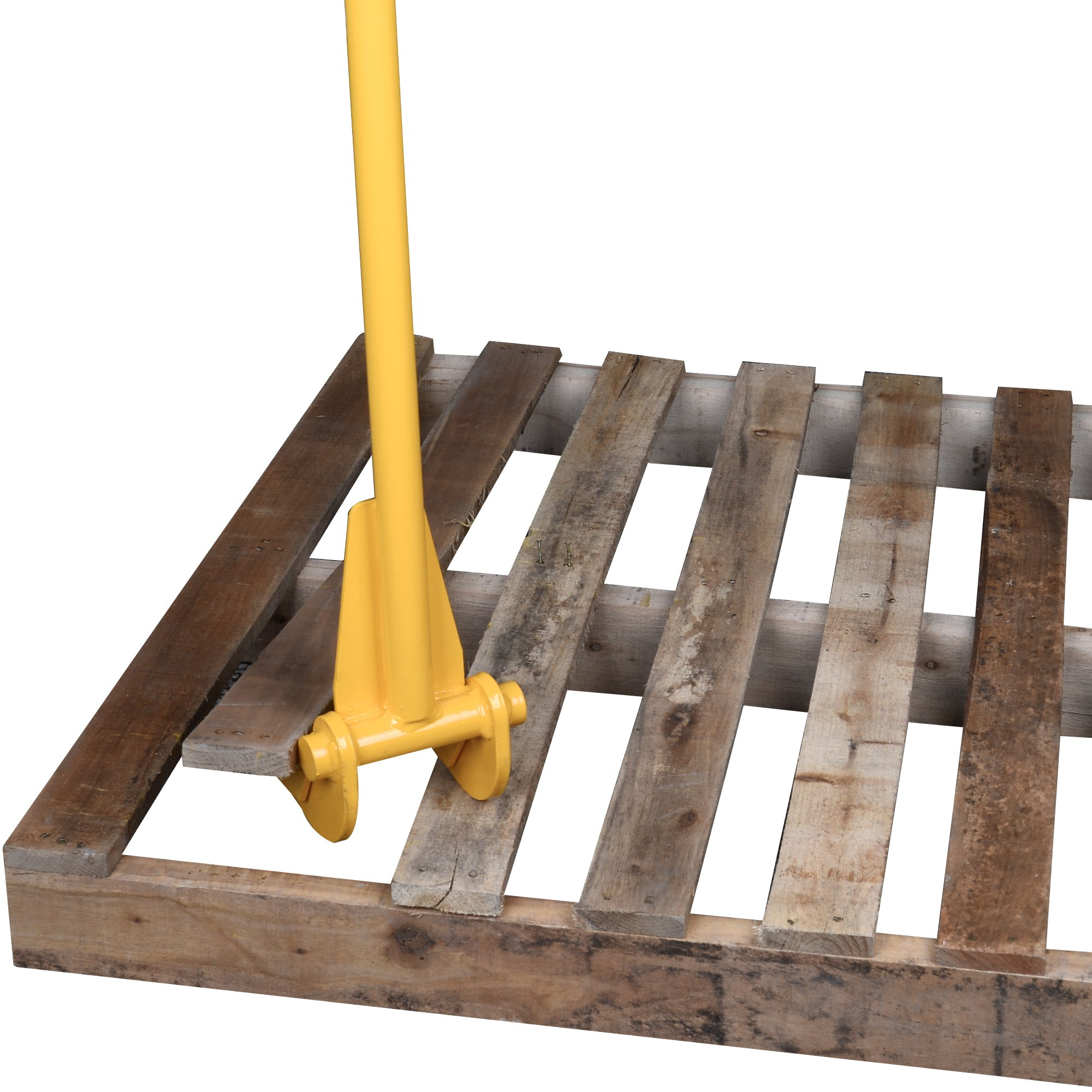 TIME SAVER - Pallet Buster Industrial Pry Bar For Easy Wood Pallet Destruction and Dismantler Premium Global Wood Breaker For Logistics Shippers Warehouses Anti Slip Grip Handles 41'' BL by 12Vmonster (Image #7)