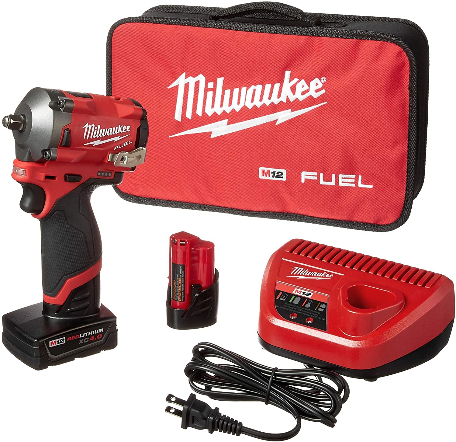 MILWAUKEE M12 3//8 IMPACT SPECIAL BUY  FREE SHIP AND 12 PIECE SOCKET SET INCLUDED