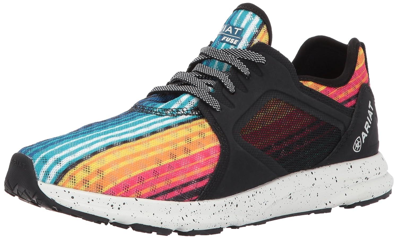 Ariat Women's Fuse Athletic Shoe B01N5USXA3 5.5 B(M) US|Rainbow Serape Mesh