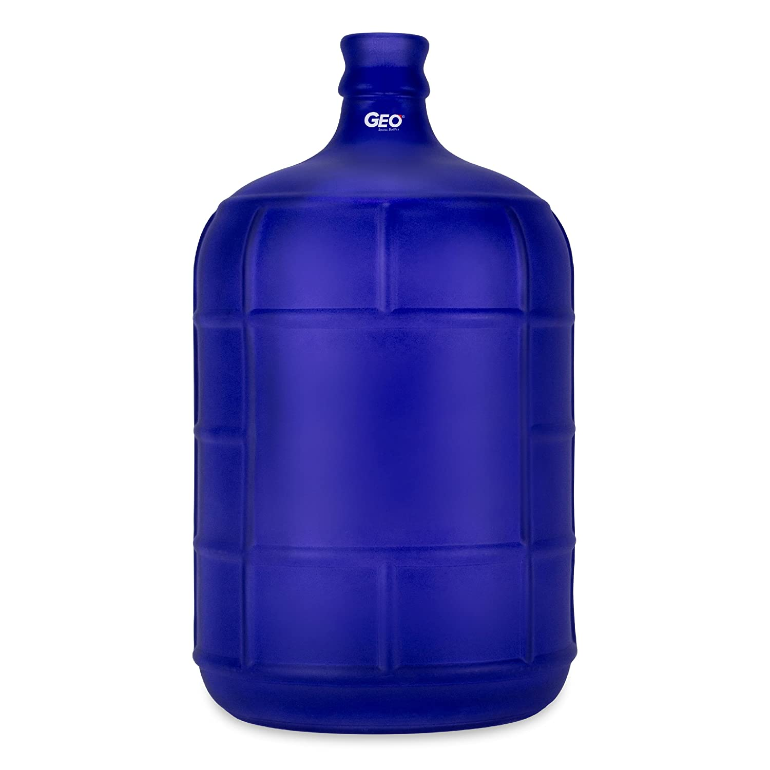 3 Gallon Round GLASS Carboy fits 30mm cork finish or 55mm Push Cap Home Brew Geo Sports Bottles