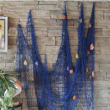 Decorative Outdoor Nautical Fishing Net Seaside Home Wall Beach Party Sea Shell