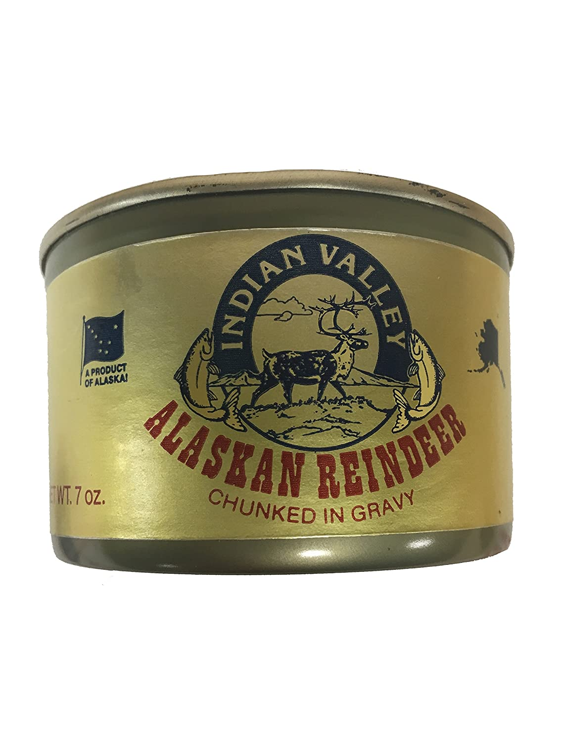 Canned Edible Reindeer Meat