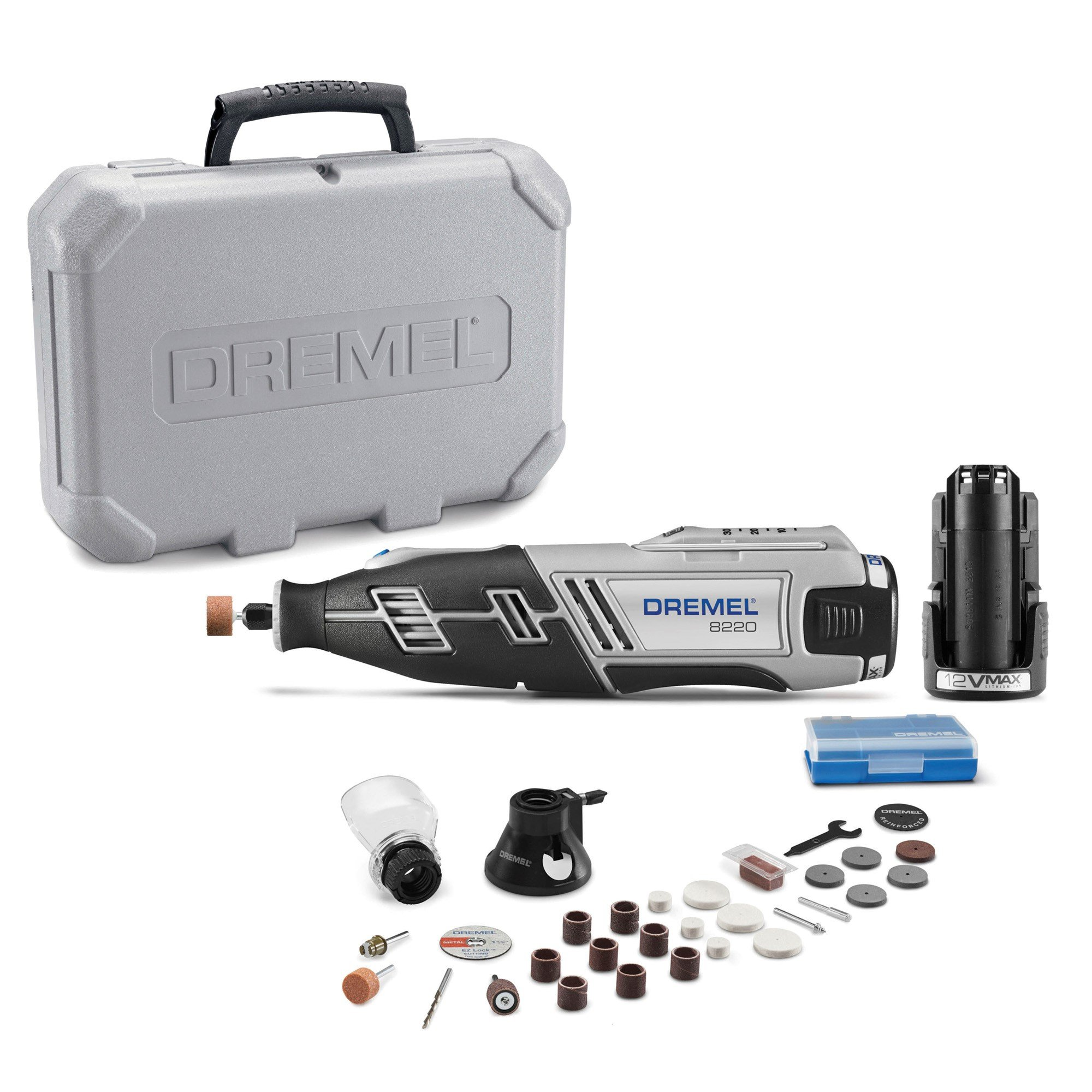 Dremel 8220-2/28 12-Volt Max Cordless Rotary Tool with 28 Accessories by Dremel