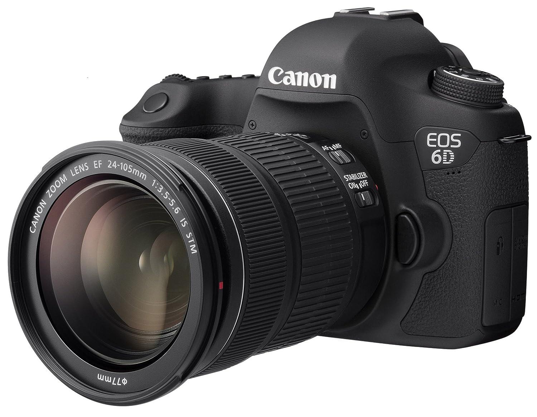 Canon デジタル一眼レフカメラ EOS 6D レンズキット EF24-105 F3.5-5.6IS STM付属 EOS6D24105ISSTMLK 通常品  B01MZDRTC5