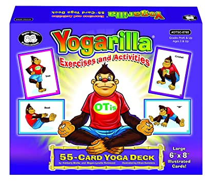 Yogarilla Exercises and Activities - Yoga Flash Card Deck ...