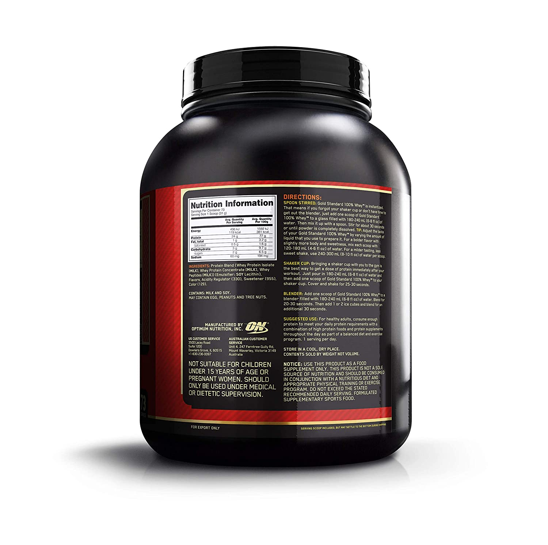 48e6359a4 Optimum Nutrition Gold Standard 1 Whey Strawberry Protein Powder ...