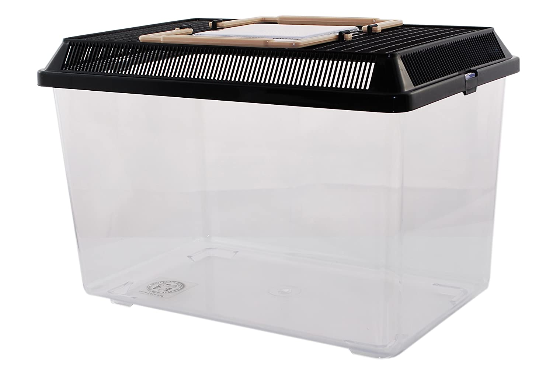 Dragon Neu PET-PLAZA Kunststoffbox - Faunarium - Kunststoffterrarium - Faunabox - Insektenbox - Insektenterrarium - Box für Futterinsekten