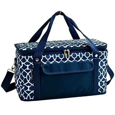 Picnic at Ascot 42 Can Capacity Semi Rigid Collapsible Leakproof Cooler- Designed & Quality Approved in the USA
