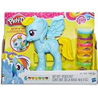 Play Doh - My Little Pony - Rainbow Dash Style Salon inc 6 Tubs & Accessories