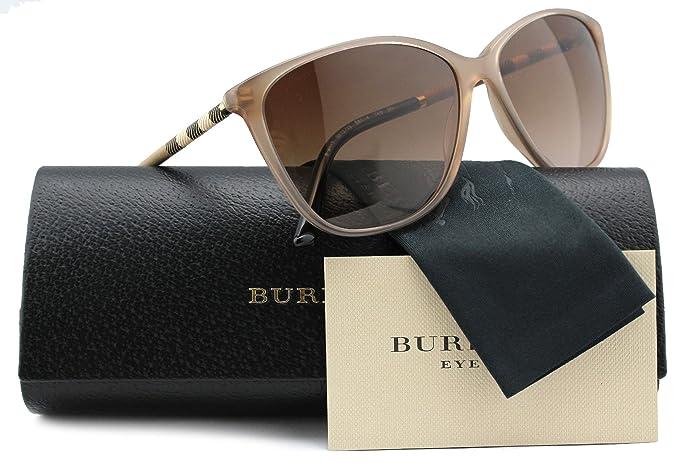 b0c5fb74718 Burberry BE4117 Sunglasses Sand w Brown Gradient (3012 13) B 4117 ...