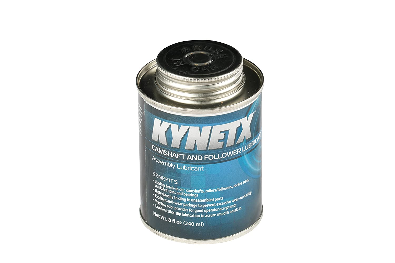Kynetx Lube, 8 Oz Can 8435000000-KN9023 - Machinery Lubricant with High Viscosity and Low Odor. Automotive and Industrial Fluids and Maintenances