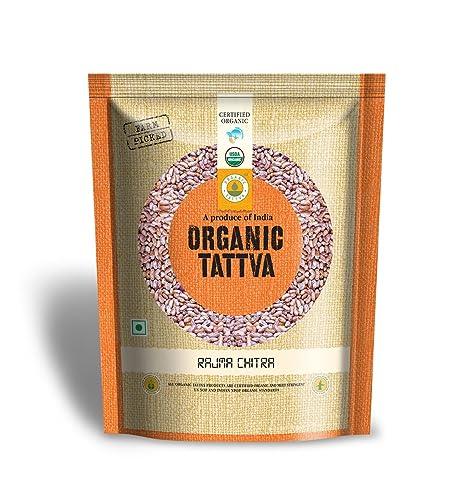 Organic Tattva Rajma Chitra, 500g