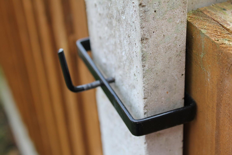 6 x Concrete Post Clips MyGardenGreen