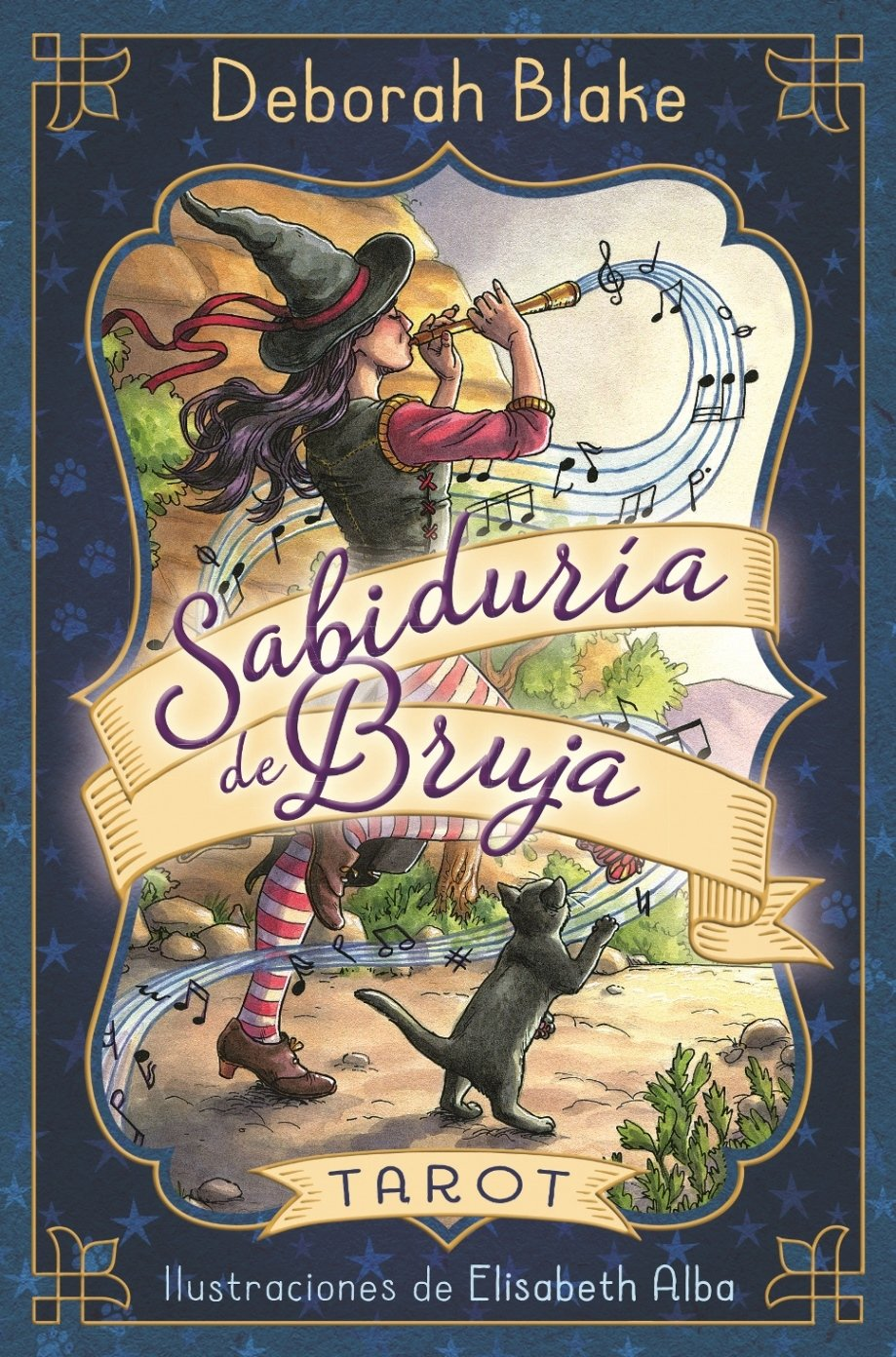 Sabiduria de bruja. Tarot (Spanish Edition): Deborah Blake ...