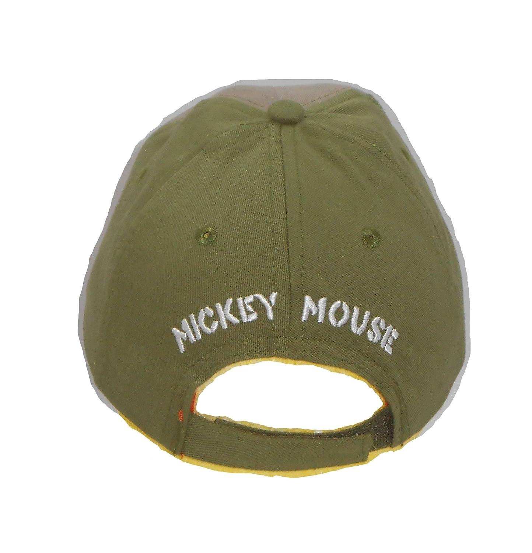 Disney Kids Gray Mickey Mouse Adventure Baseball Cap