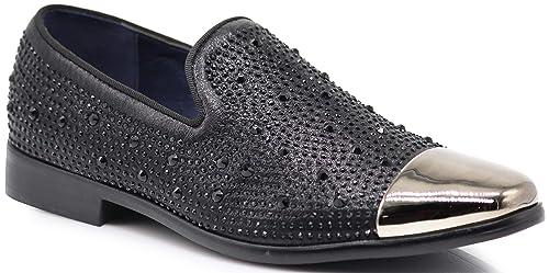 Amazon Spk12 Mens Vintage Fashion Sparkle Rhinestone Patent