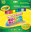 Crayola 10 Color Wonder Markers, Classic