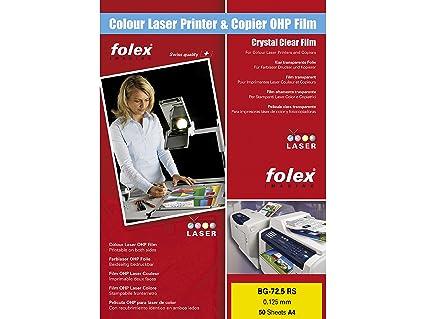 Folex BG de 72.5 RS Copia folios DIN A4, 100 micras, tiras ...