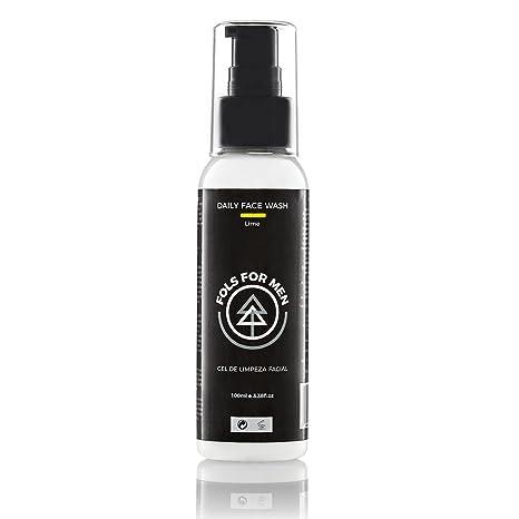 Limpiador Facial orgánico para hombres FOLS For Men | Para piel sensible y tratamiento de acné