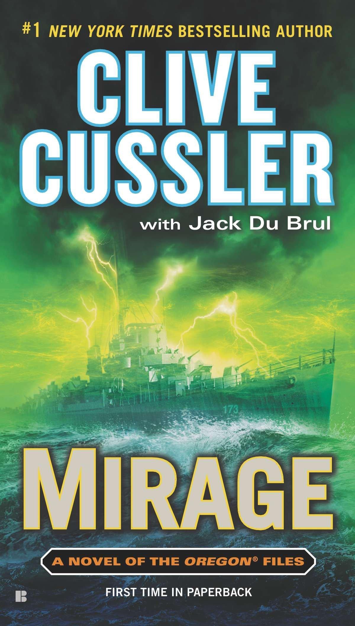 Amazon.com: Mirage (The Oregon Files) (9780425250631): Clive Cussler, Jack  Du Brul: Books