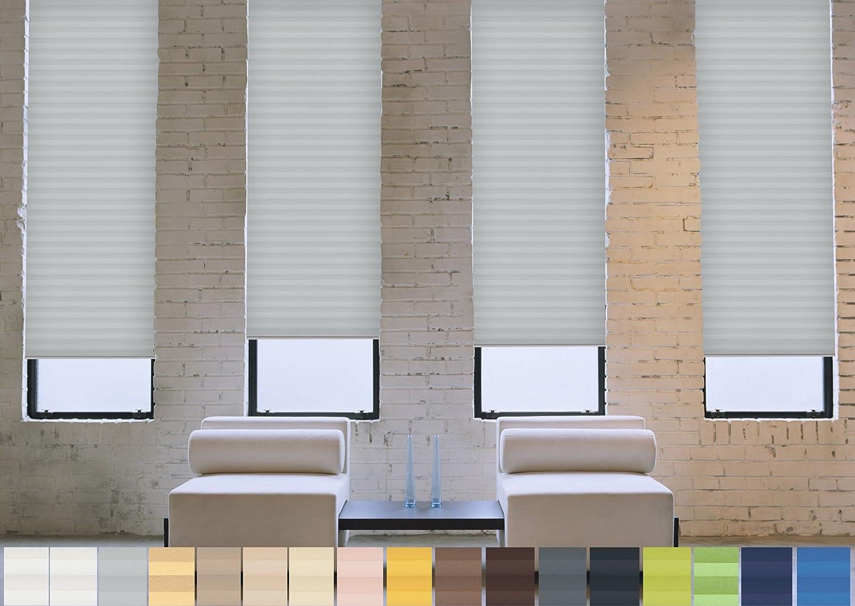 Verdunklungs- Plissee Plissee Plissee nach Maß (schwarzout, 100% Abdunkelnd),  deutsche Wertarbeit,  alle Größen in vielen Farben verfügbar (Farbe  Light grau, Höhe  91-100cm, Breite  101-110cm) B01MSH544W Transparente Gardinen 3c6180