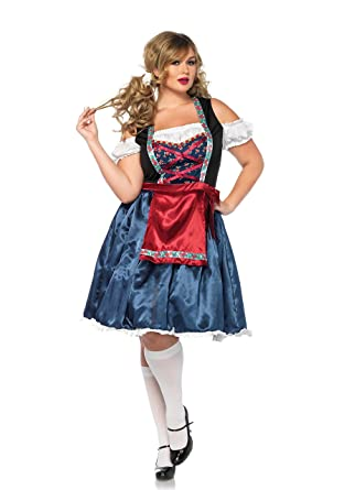 Amazon.com Leg Avenue Sexy Plus Size Curvy Beerfest Bavarian Beer Wench Costume Clothing  sc 1 st  Amazon.com & Amazon.com: Leg Avenue Sexy Plus Size Curvy Beerfest Bavarian Beer ...