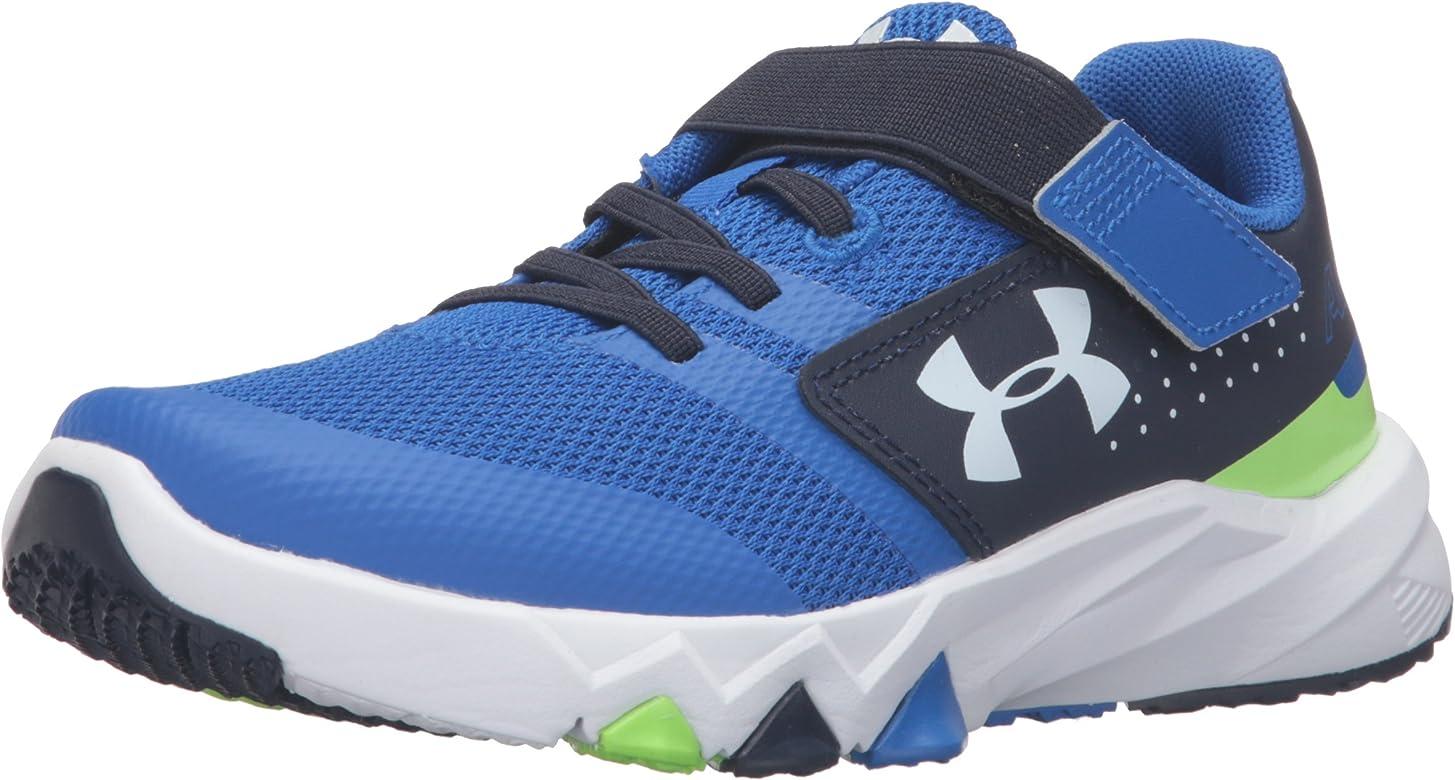 50d48267a Under Armour Men's Pre School Primed Adjustable Closure Sneaker, Ultra Blue  (907)/
