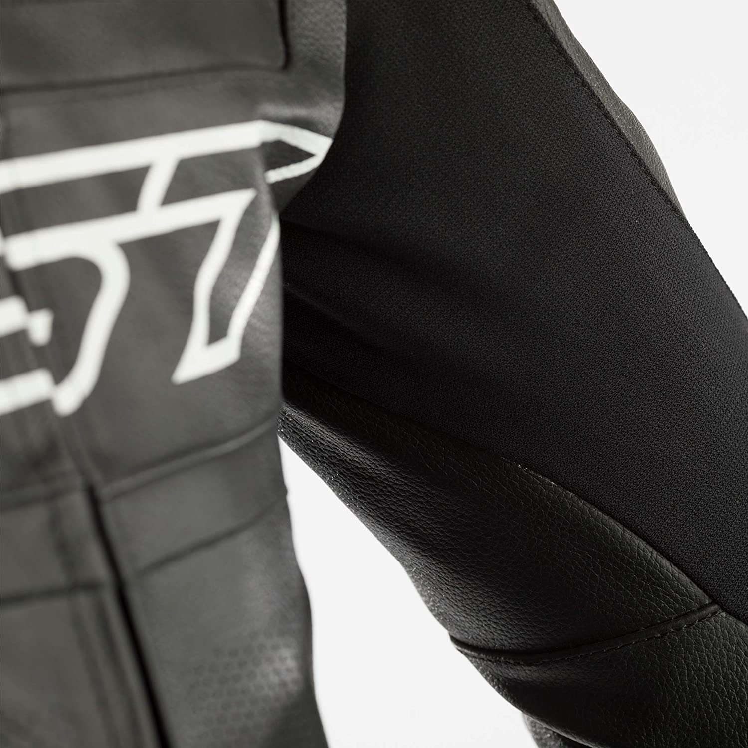 RST Leather Suit Tractech Evo R CE Black//Flo Yellow 40