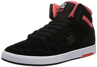 DC Shoes Nyjah High, Baskets Mode Femme - Blanc (White/Pink), 37 EU