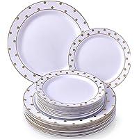 Silver Spoons 1835-SIS - Platos desechables (plástico)