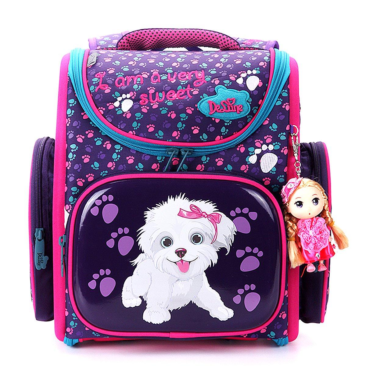 Kidsバックパックfor Girls and Boysキュートスクールバッグ – 防水/ユニーク/ノーブル B0744JFP7G 3-129