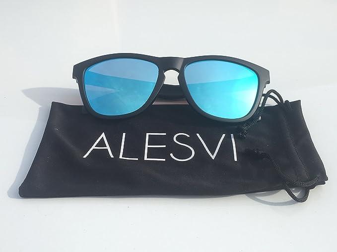 ALESVI gafas de sol polarizadas (verde esmeralda): Amazon.es ...