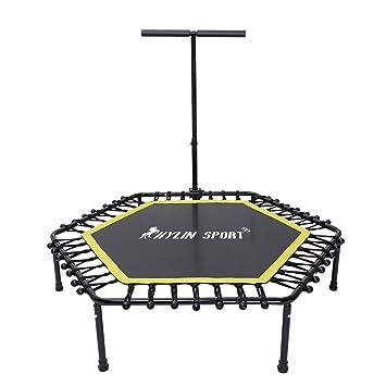 kylin Sport Fitness (50), cama elástica con Interior y Exterior Ajustable mango en