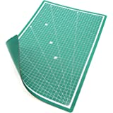 PRETEX Cutting Mat 45 x 30 cm (A3) Green Recycled PVC Base with Self-Closing, Self-Healing Surface | 2 Year Money Back Guarantee | Self Healing Cutting Mat Mat