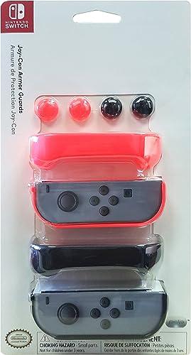 PDP - Joy-Con Armor Guards, Color Rojo (Nintendo Switch): Amazon ...