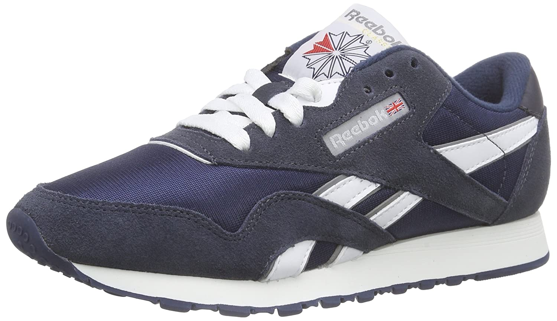 Reebok Classic Sneaker B0000C04CS 6 B(M) US Team Navy/Platinum