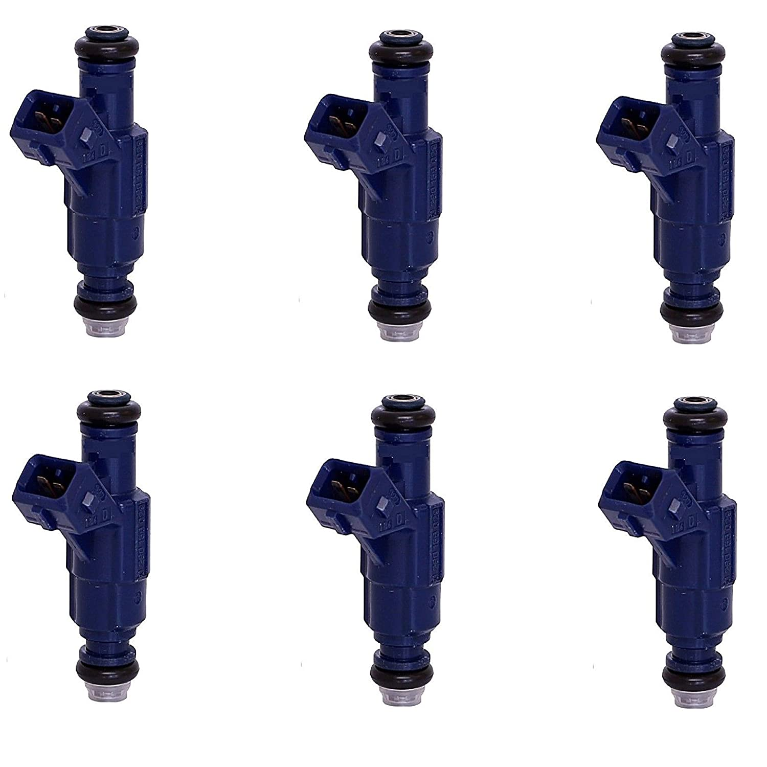 1X Genuine Bosch Fuel Injector for 2004 Ford Explorer Mercury Mountaineer 4.0L
