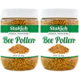 Stakich BEE POLLEN GRANULES 2 lb (32 oz) - 100% Pure, Natural, Unprocessed - (2 Pack of 1 lb)