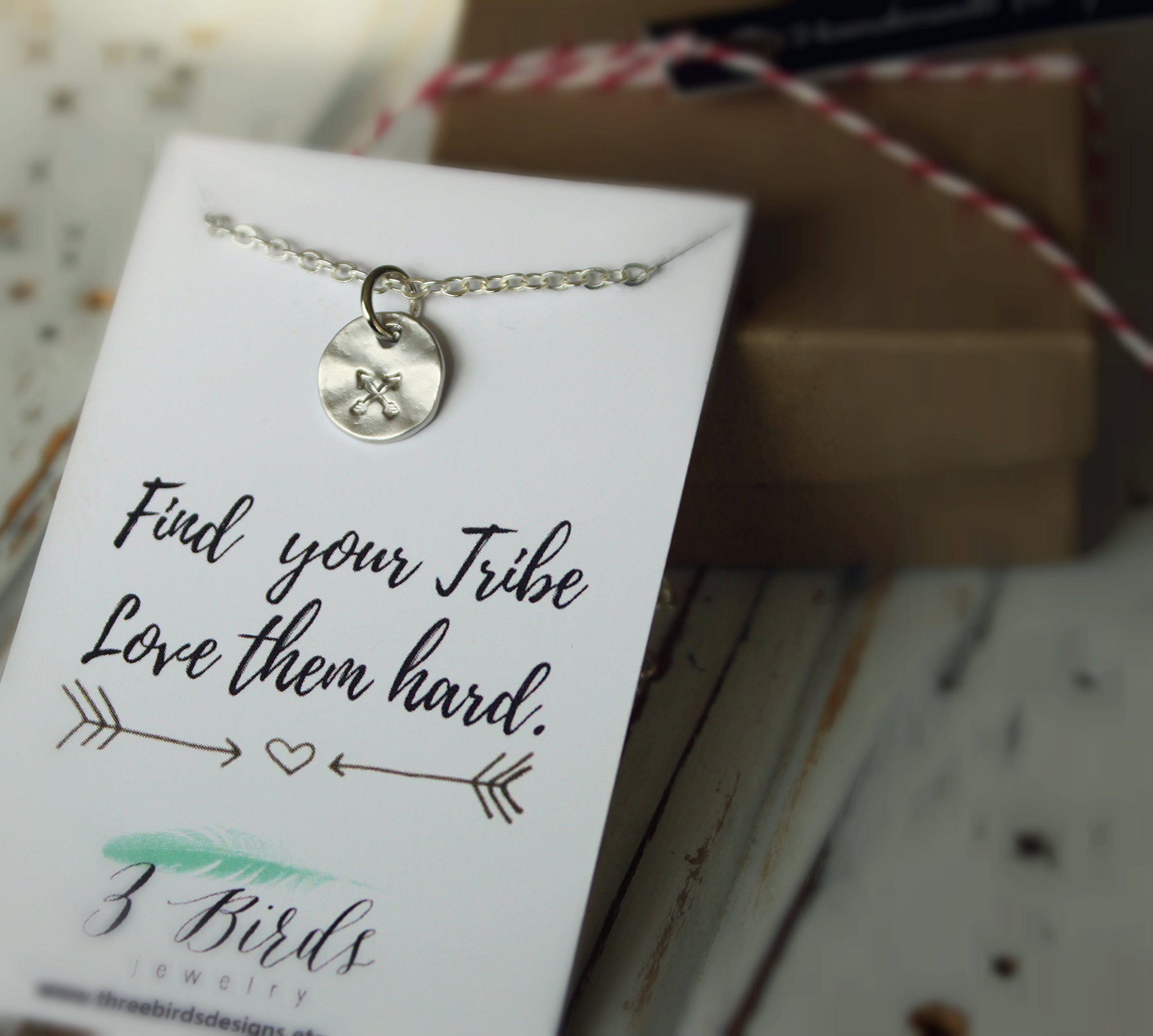 ON SALE Tribe Best Friend Necklace. Double Arrow. Silver, Gold, and Rose Gold. Multiples Discount. Friendship Necklace. Find your tribe. Love them hard.