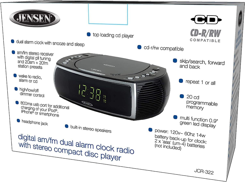 Jensen Modern Home CD Tabletop Stereo