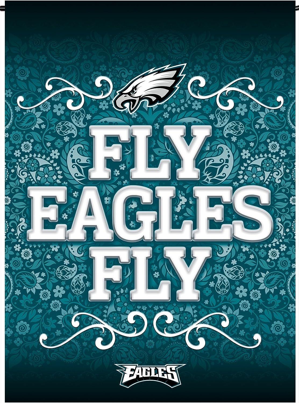 "Rico Industries Eagles Garden Flag 13"" X 18"""