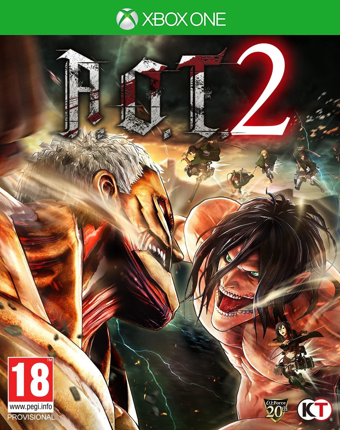 Attack On Titan 2, XBOX ONE: Amazon.es: Videojuegos