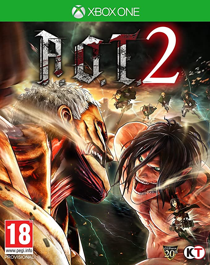 Attack On Titan 2, XBOX ONE: Amazon.es: Videojuegos
